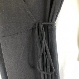 Reformation Jeans Dresses - Reformation Jeans Celine Black Wrap Dress